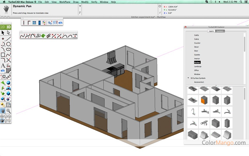 TurboCAD Mac Deluxe 2D/3D Online Shopping, Price, Free Trial, Rating ...