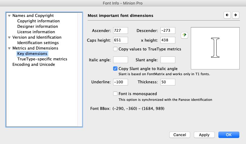 TypeTool Bildschirmfoto