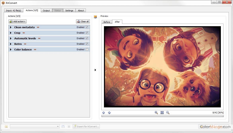 XnConvert Screenshot