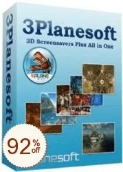 3Planesoft 3D Screensavers Discount Coupon