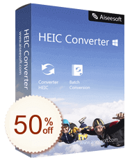 Aiseesoft HEIC Converter Discount Coupon