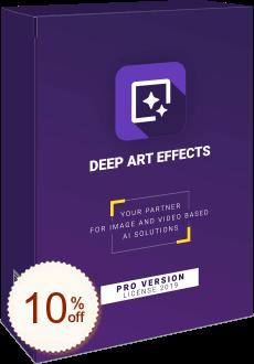 Deep Art Effects Discount Coupon