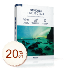 DENOISE projects Discount Coupon