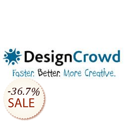 DesignCrowd Logo Design Discount Coupon