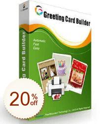 Greeting Card Builder Discount Coupon