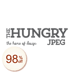The Hungry JPEG Discount Coupon