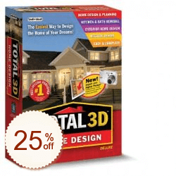 Total 3D Home Design Deluxe Discount Coupon Code