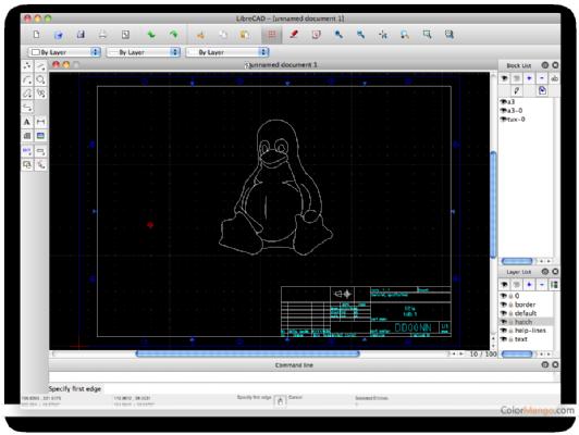 LibreCAD Shopping & Review Screenshot
