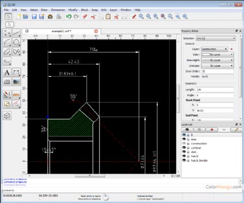 QCAD Shopping & Review Screenshot