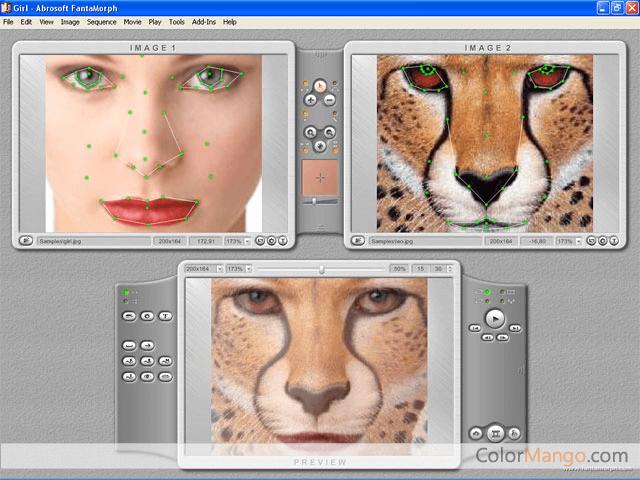 Abrosoft FantaMorph Screenshot
