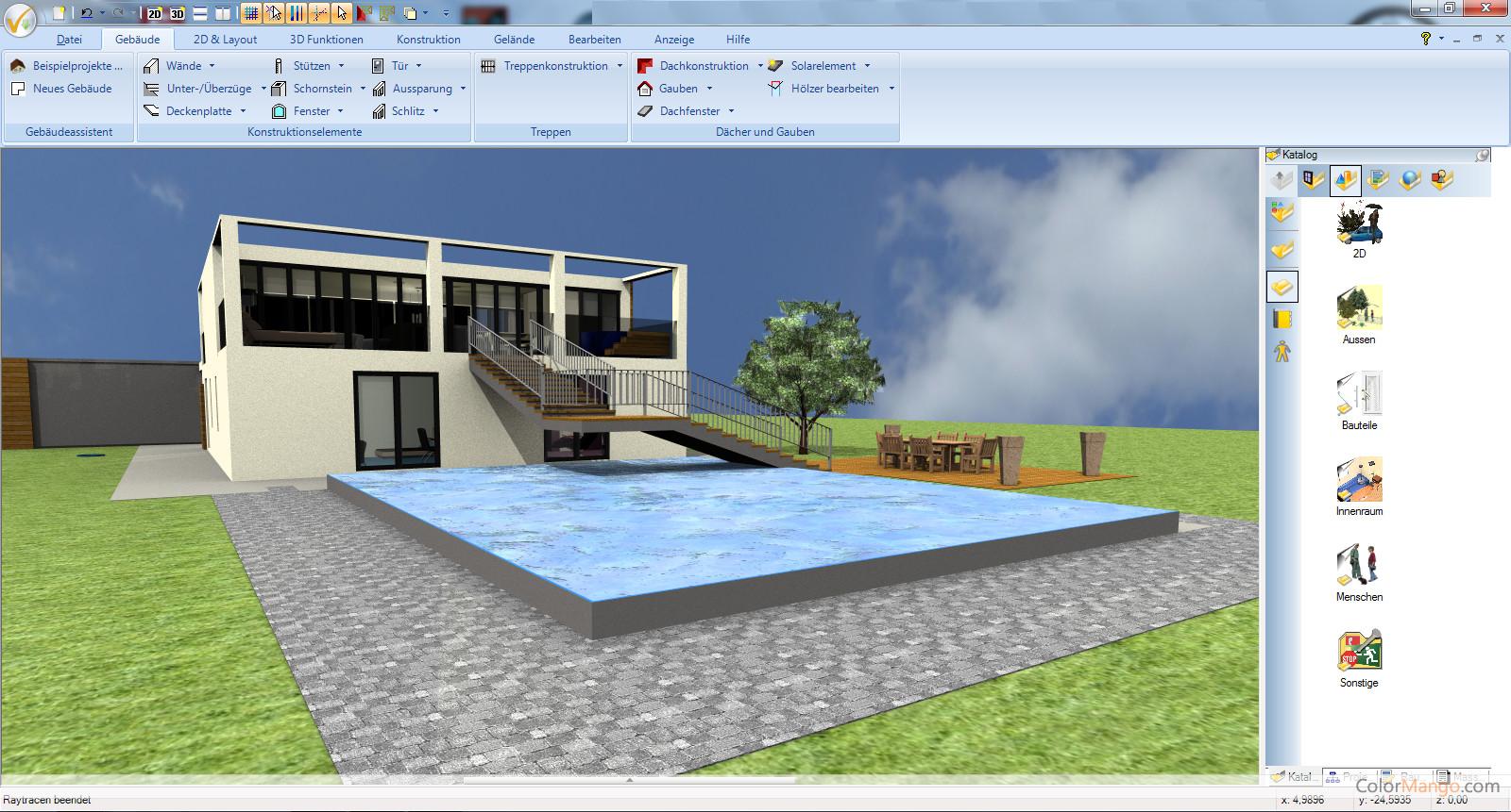 Ashampoo 3D CAD Architecture Screenshot