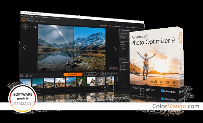 Ashampoo Photo Optimizer Screenshot