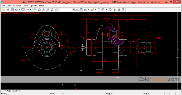 AutoDWG DWGSee Pro Screenshot