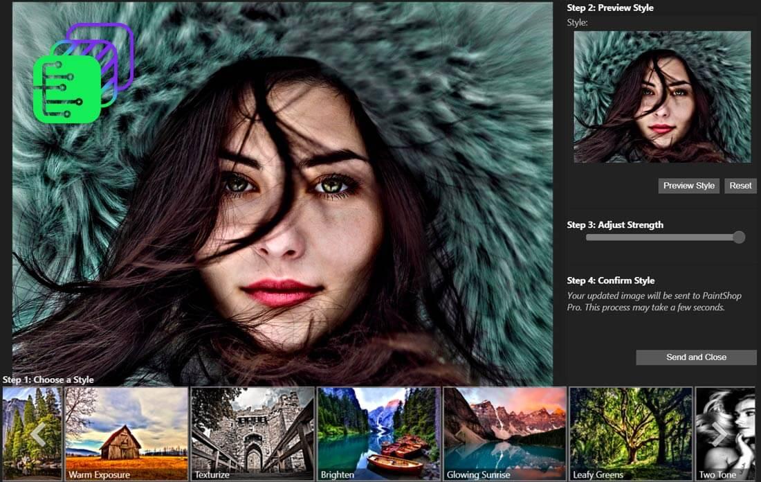 Corel PaintShop Pro Ultimate Screenshot