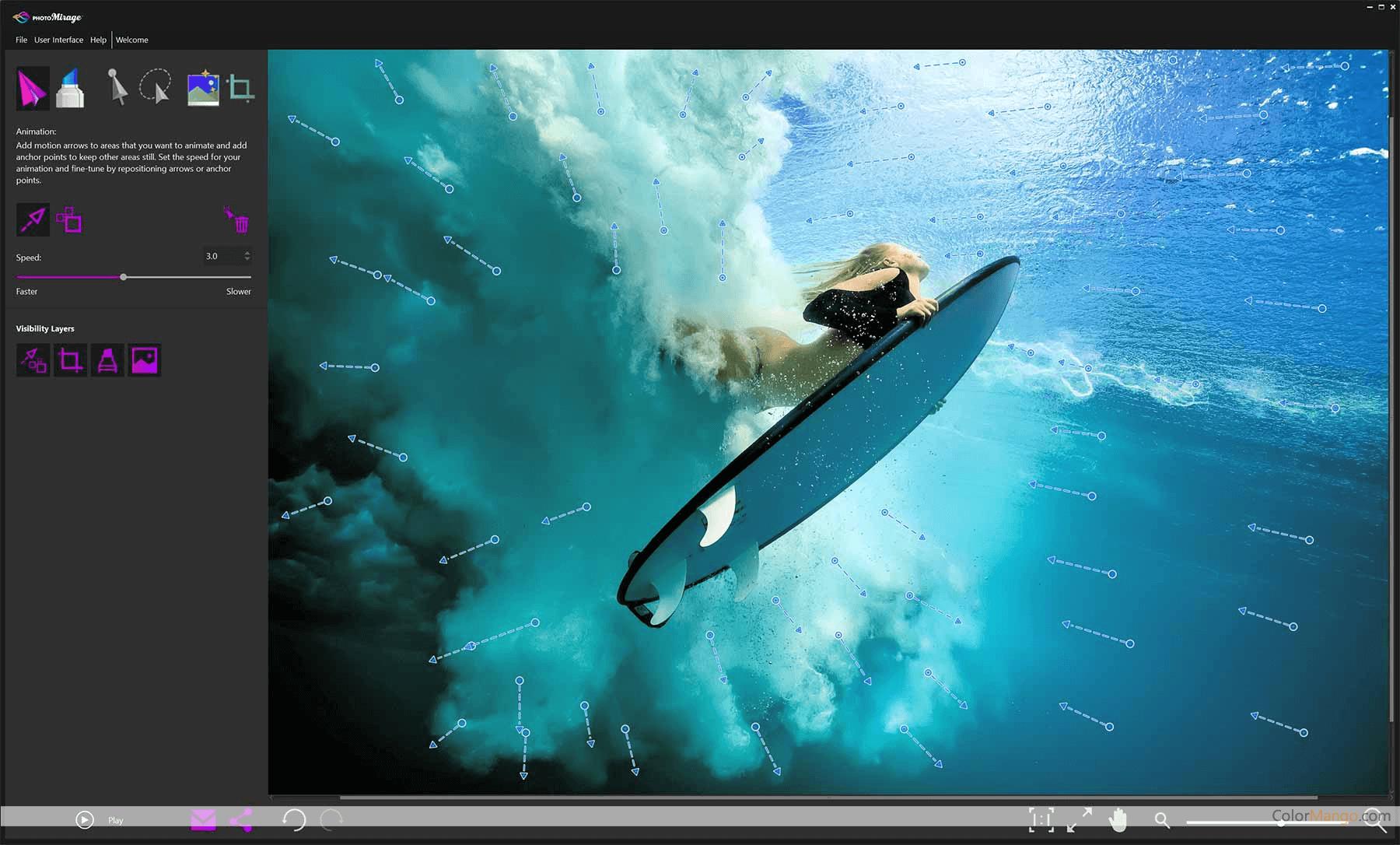 Corel PhotoMirage Screenshot