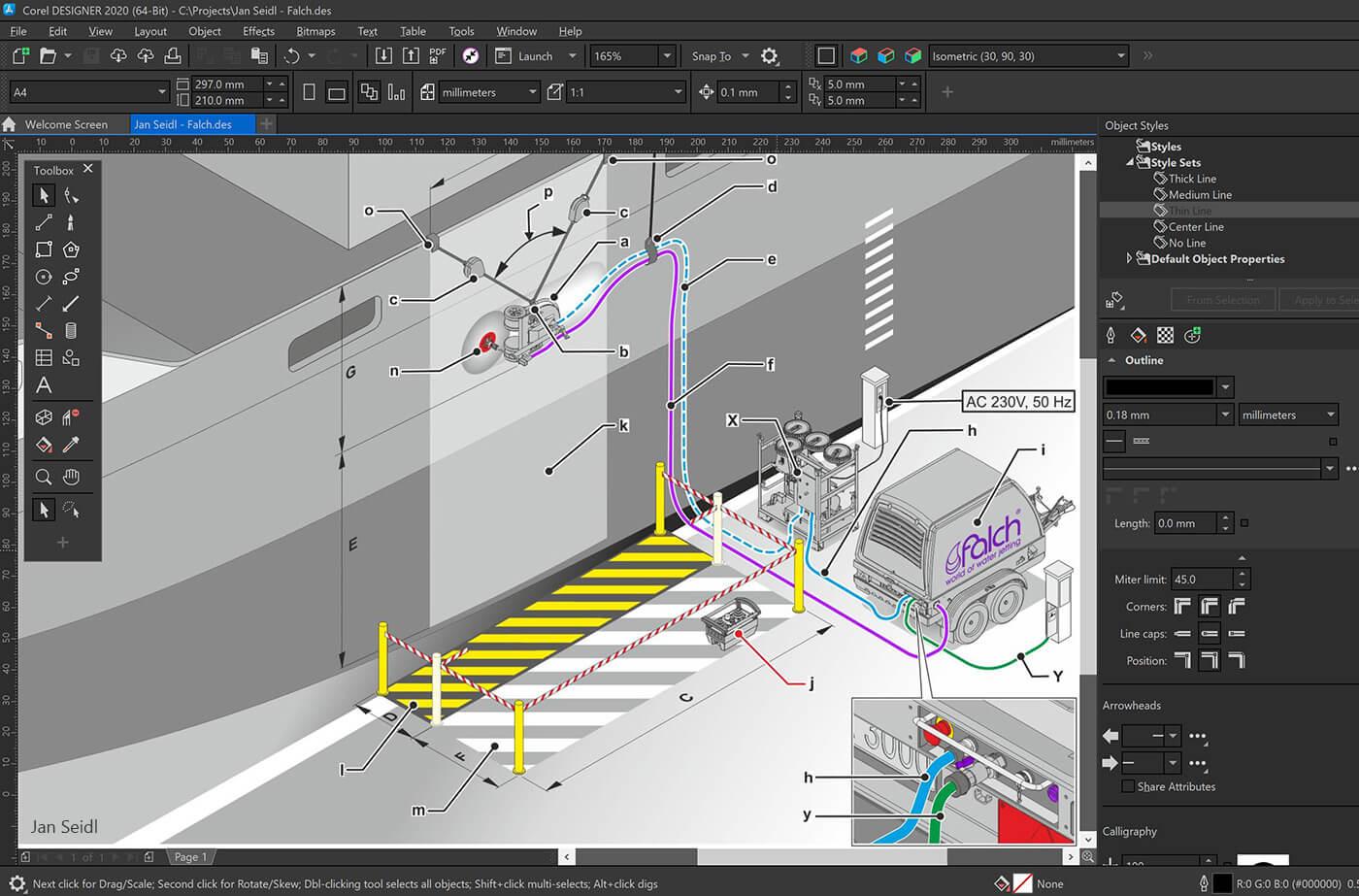 CorelDRAW Technical Suite Screenshot