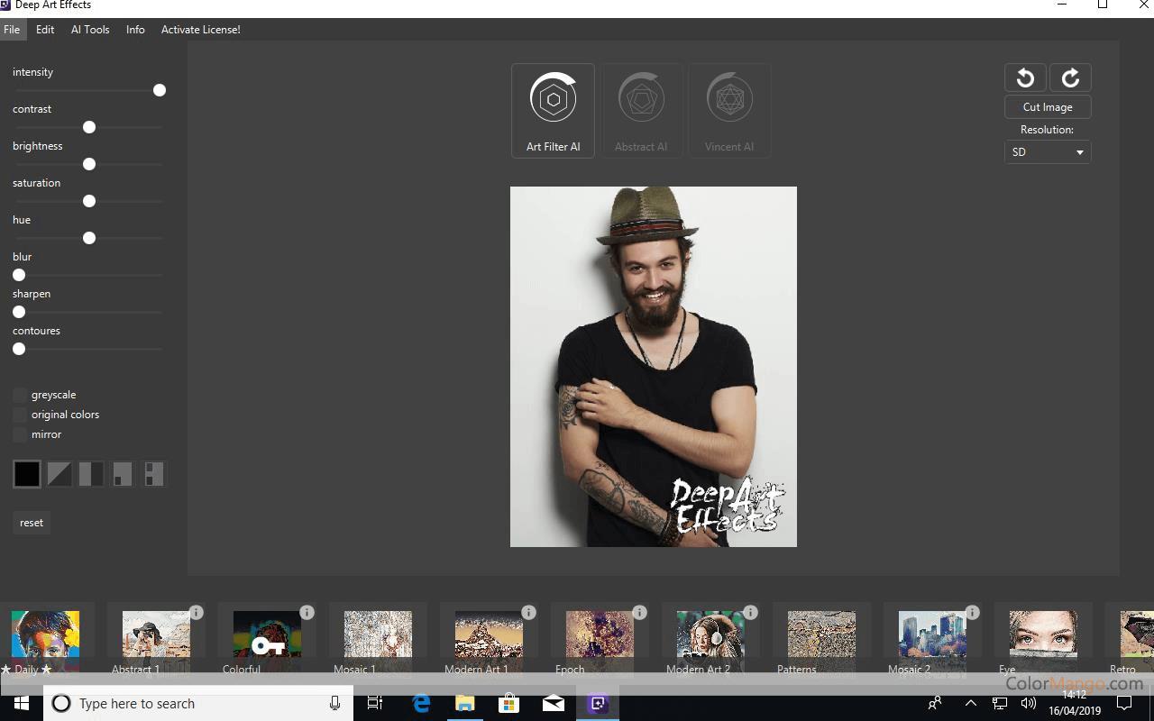 Deep Art Effects Screenshot