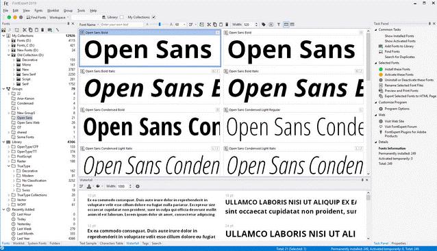 FontExpert Screenshot
