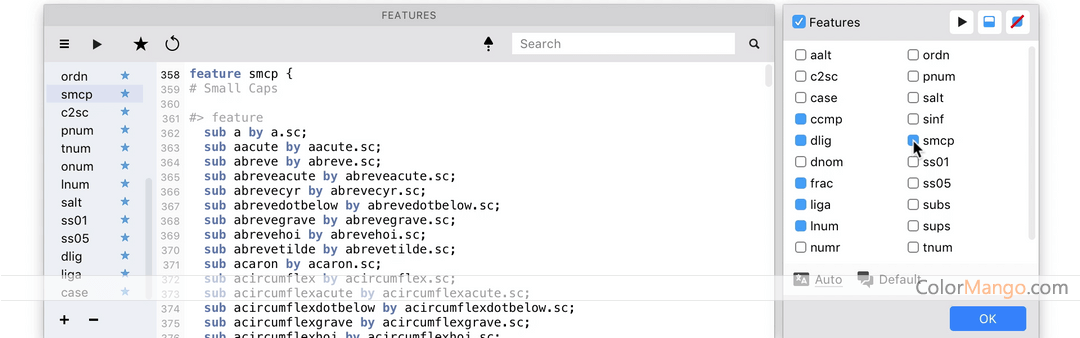 FontLab Studio Screenshot