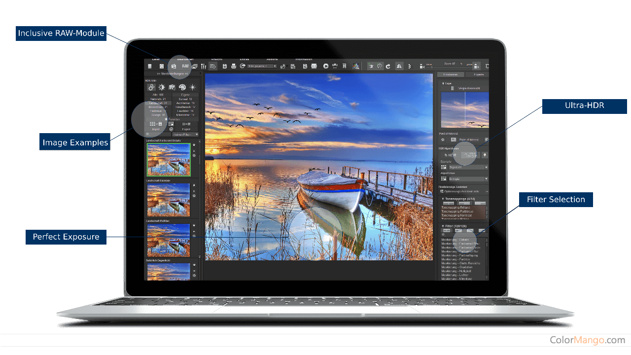 HDR projects Screenshot
