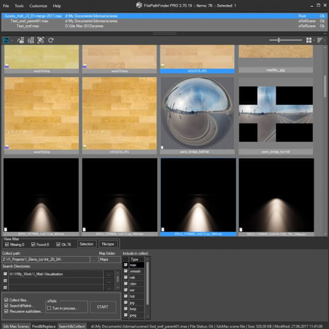 Kstudio FilePathFinder Screenshot