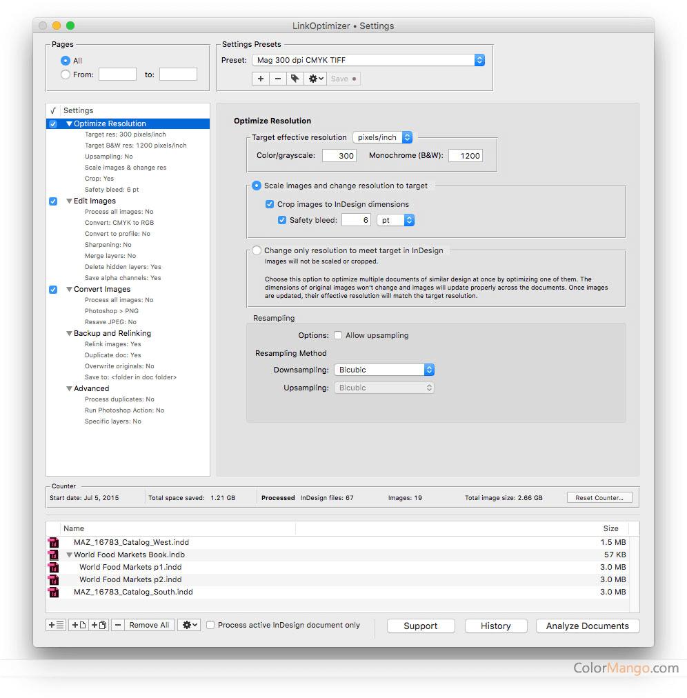 LinkOptimizer Screenshot