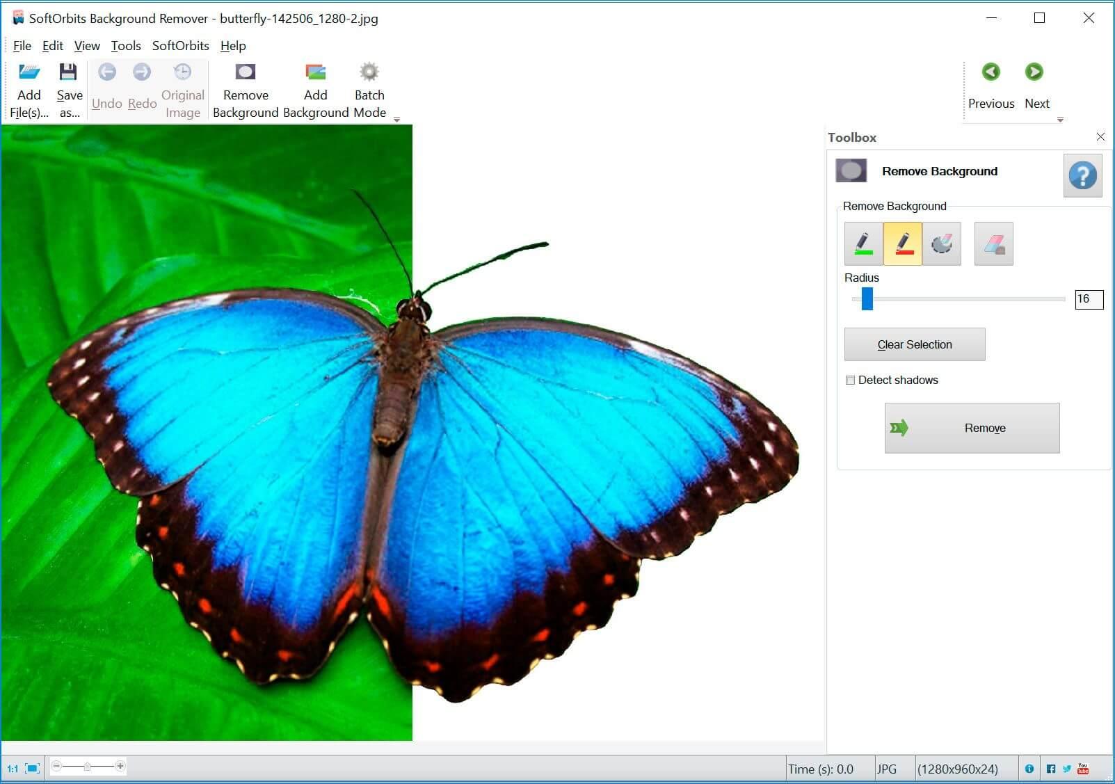 Photo Background Remover Screenshot