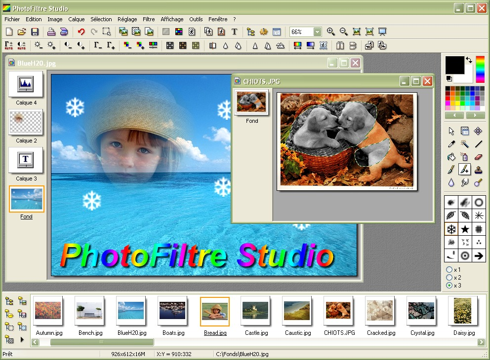 ������ �� ����� ������ ����� �� ��� ����� �� PhotoFiltre Studio X v10.8.1 final
