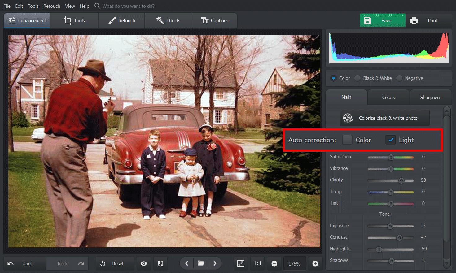 PhotoGlory Pro Screenshot