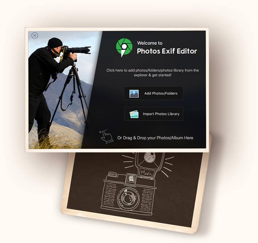 Photos Exif Editor Screenshot