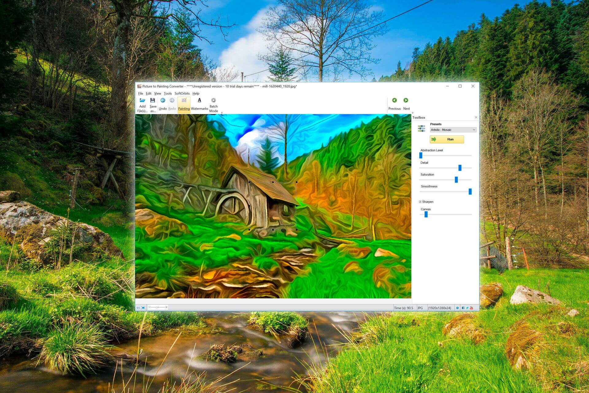 Picture to Painting Converter Screenshot