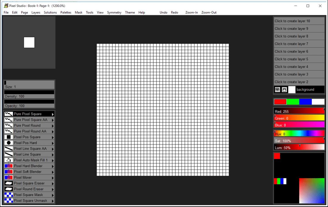 Pixel Studio Screenshot