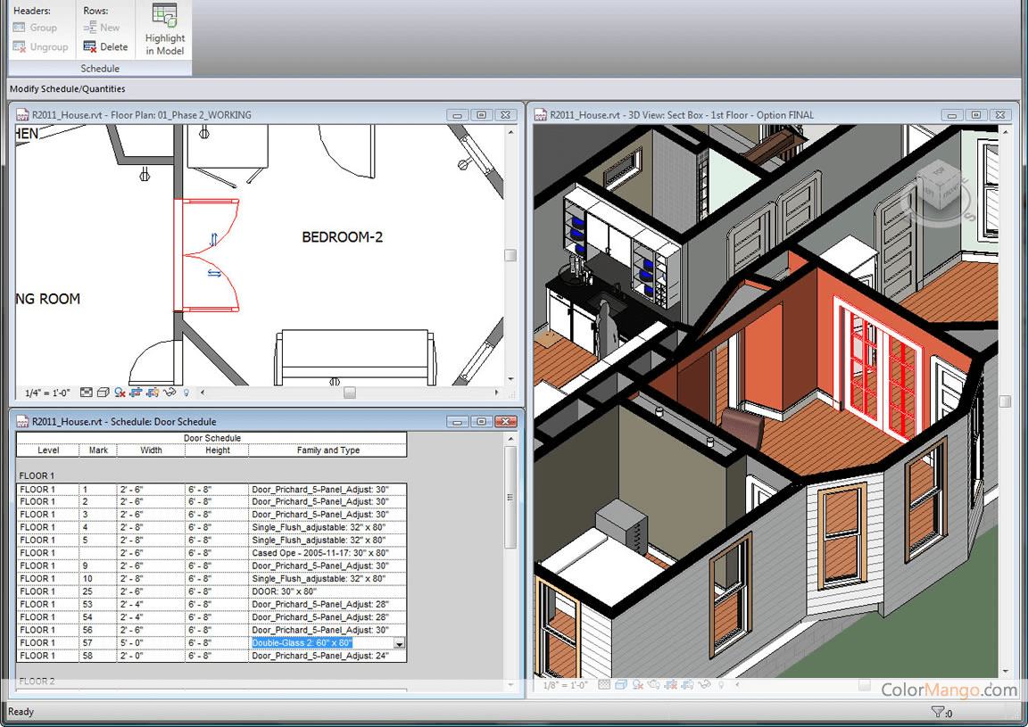 Autodesk Revit Screenshot