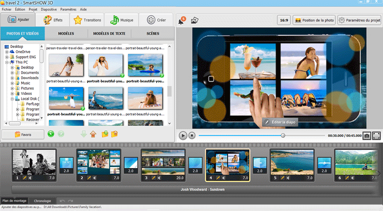 SmartSHOW 3D Screenshot
