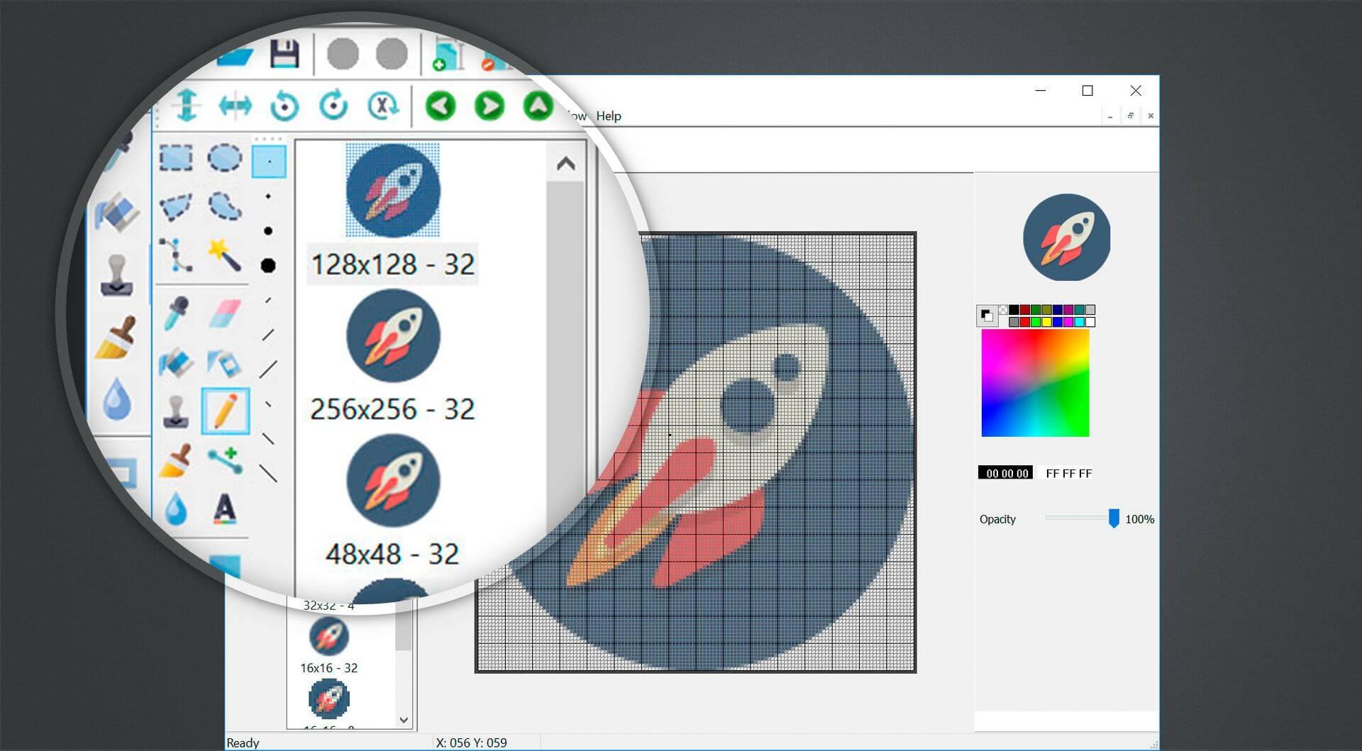 SoftOrbits Icon Maker Screenshot