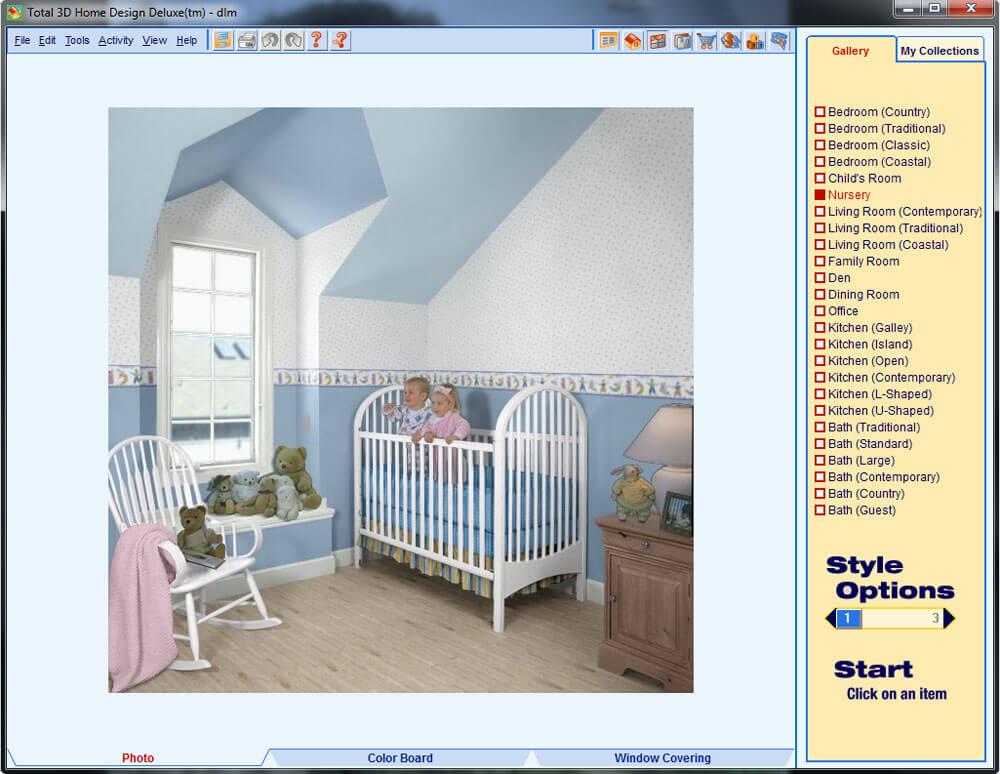 Total 3D Home Design Deluxe Screenshot