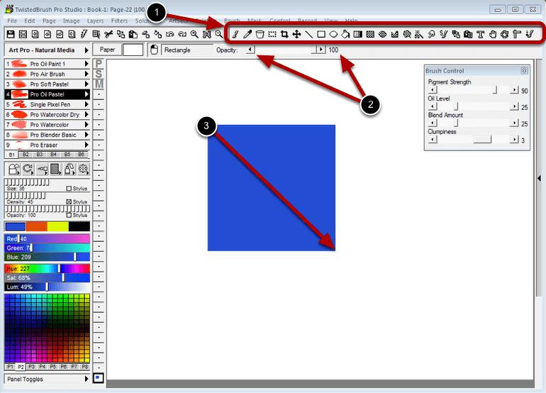 TwistedBrush Pro Studio Screenshot