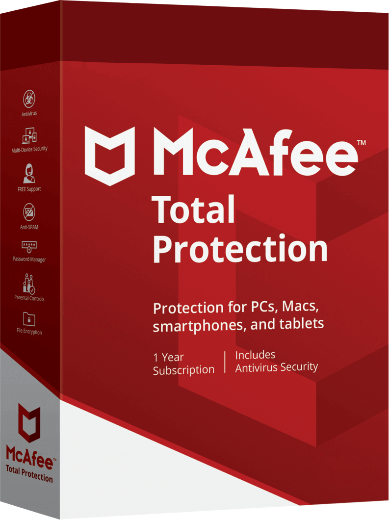 McAfee Total Protection Boxshot
