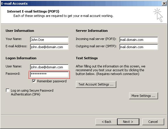 Asterisk Password Recovery スクリーンショット