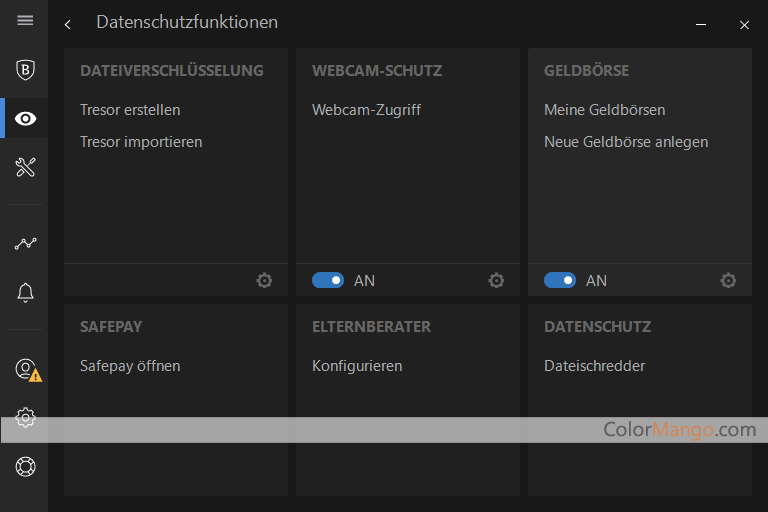 BitDefender Total Security MULTI-DEVICE Bildschirmfoto