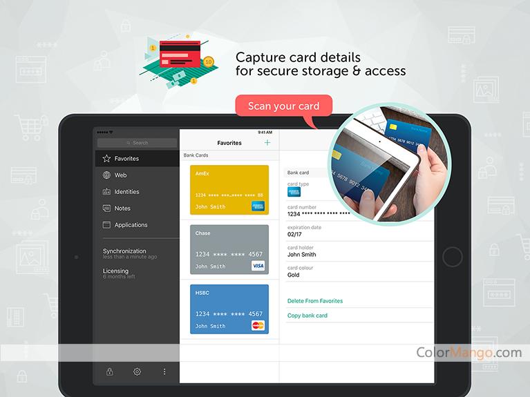 Kaspersky Password Manager Capture D'écran