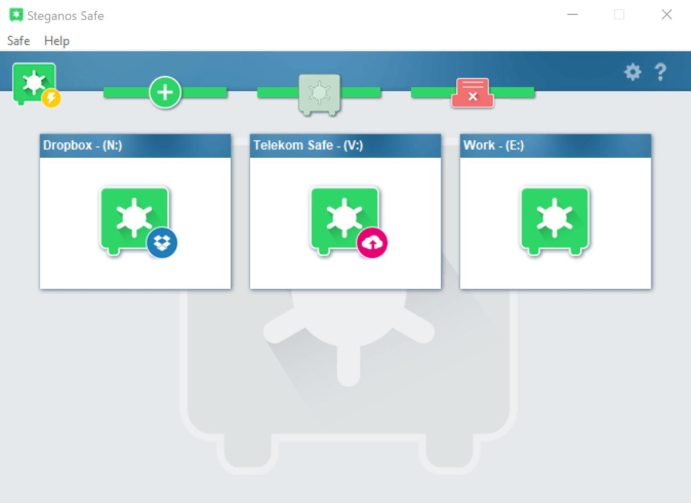 Steganos Privacy Suite Capture D'écran