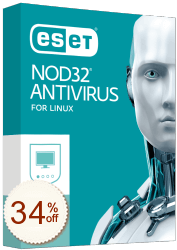 ESET NOD32 Antivirus for Linux Discount Coupon
