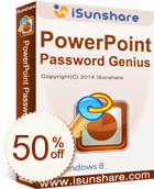 iSunshare PowerPoint Password Genius Discount Coupon