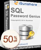iSunshare SQL Password Genius Discount Coupon