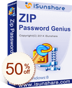 iSunshare ZIP Password Genius Discount Coupon