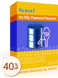 Kernel for SQL Password Recovery Discount Coupon