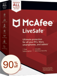 McAfee LiveSafe Shopping & Trial