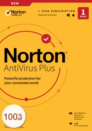 Norton AntiVirus Plus Discount Coupon