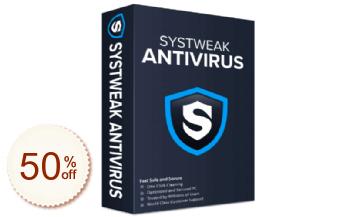 Systweak Antivirus Discount Coupon